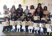 Lungisani Edu-Care Centre graduation ceremony