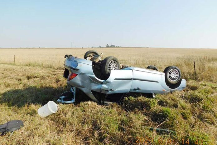 Accident report - Vehicle Accident on the N2 Mupumalanga