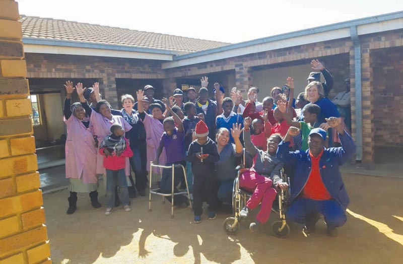 A busy Mandela-day for Driefontein
