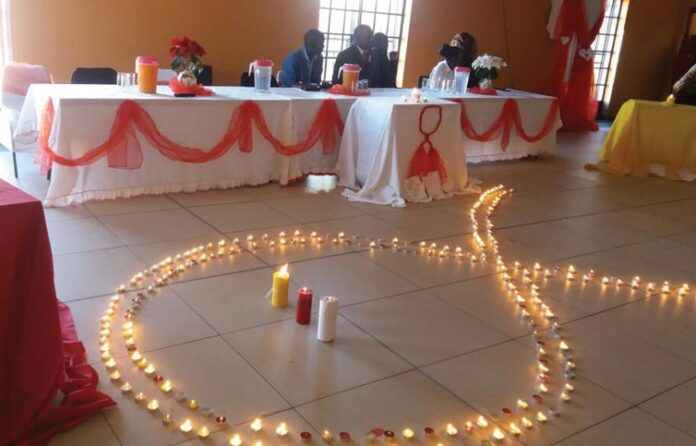 Candlelight for HIV/Aids Awareness