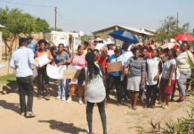 Awareness campaign on GBV