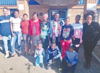 Uzwelo Children's Home giving donations to Piet Retief Hospital