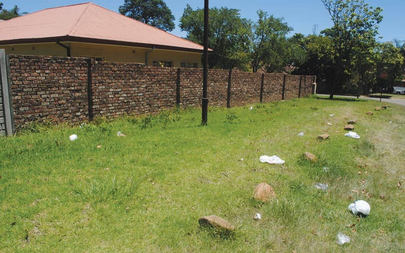 Littering - a problem in Mkhondo