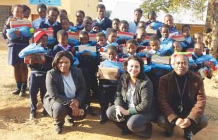 Moolman Combined Primary School blessed