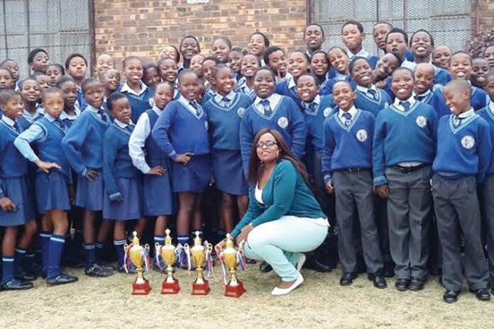The Ndawonye Primary School Choir Excels Once More