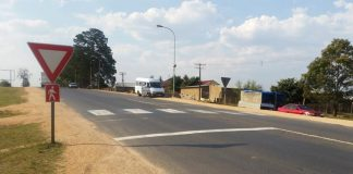 Drivers not Slowing Down at Pedestrian Crossing
