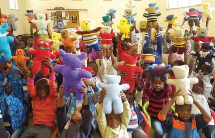 Prayer Bears donated in Moolman