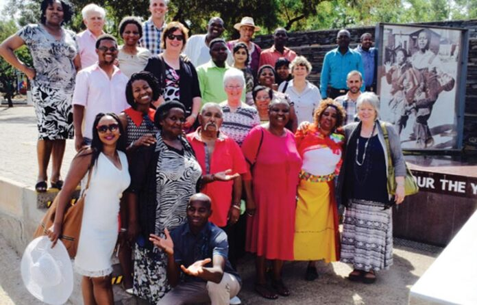 Mkhondo Prayer Team Joins S.A Council For a Day of Prayer in Soweto