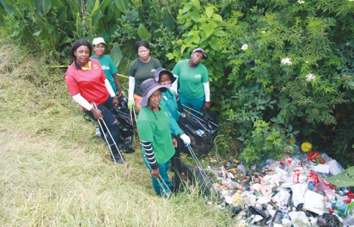 Mkhondo Municipality cleaning up the mess