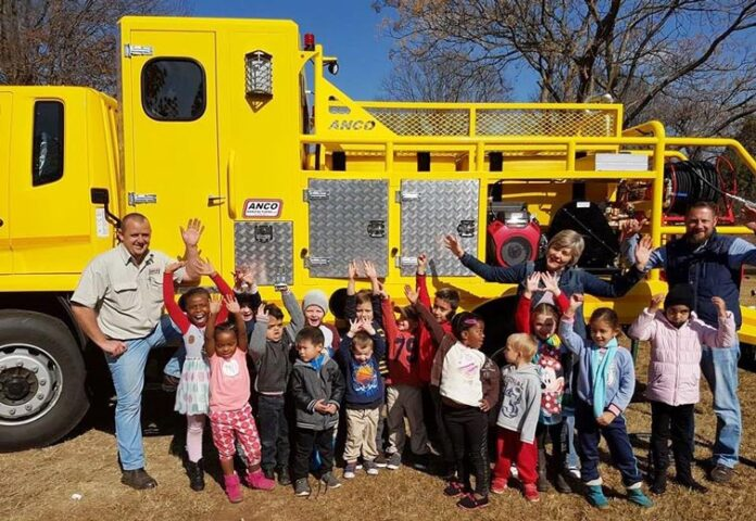 Fire Truck at Noddy's Pre-School