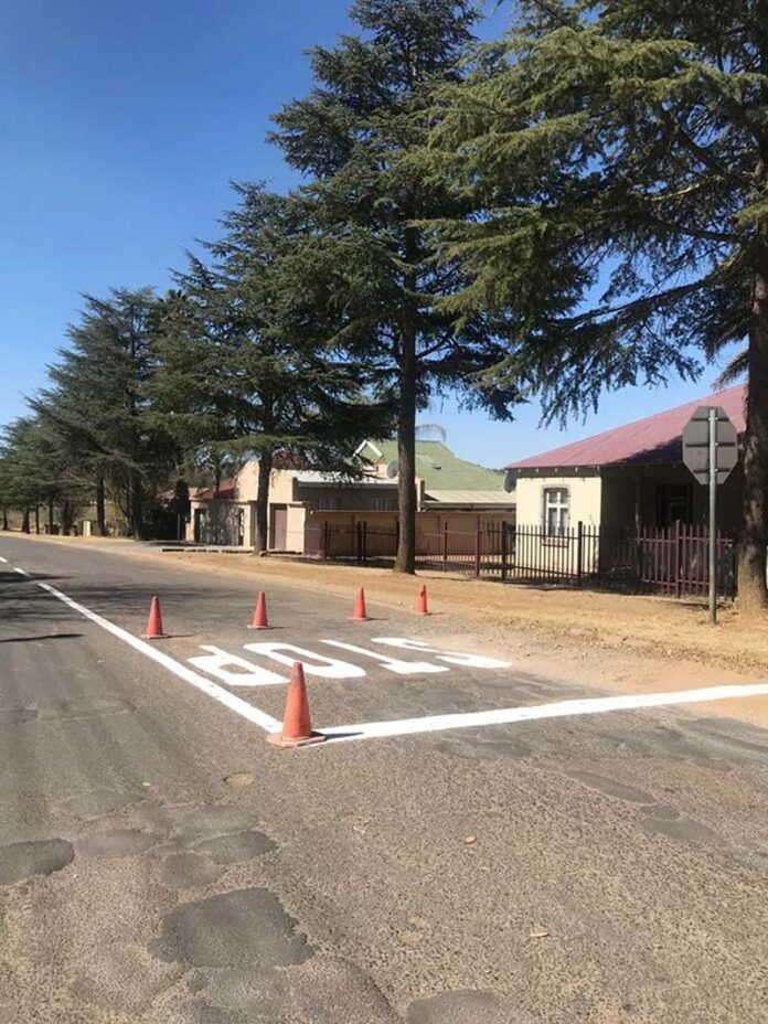 Road markings receive much needed paint job