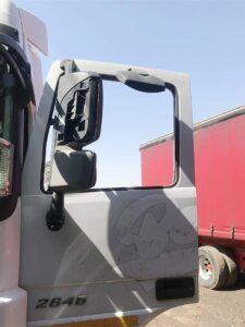 Truck driver attacked