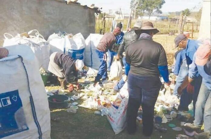 TVK Recyclers continue to clean Mkhondo