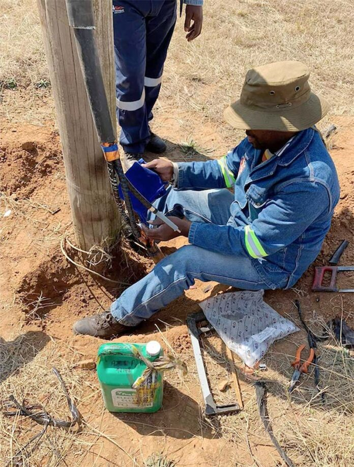Cable theft cause of water crisis