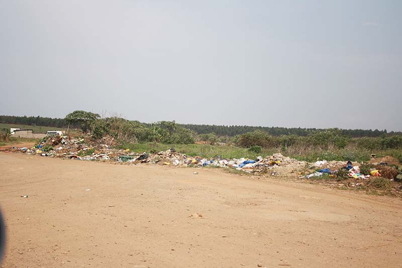 Dumping in residential areas