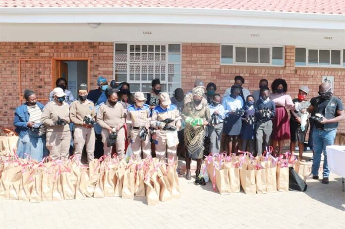Learners receive necessaries