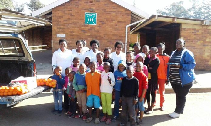 Uzwelo Benifits From Mandela Day