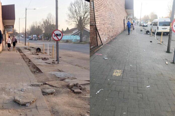 Piet-Retief-Sidewalks