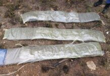 "SAPS report - These ""dagga belts"" were worn by three"