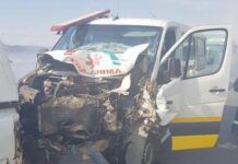 Ambulance accident in Piet Retief