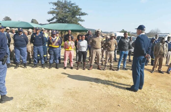 SAPS Police Joint operations