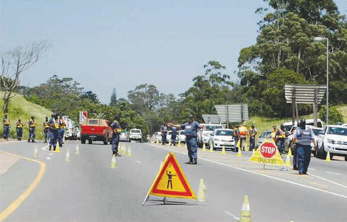 Mkhondo's Festive Season roadblock commences