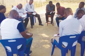 The Rock of Faith Team visits Mozambique