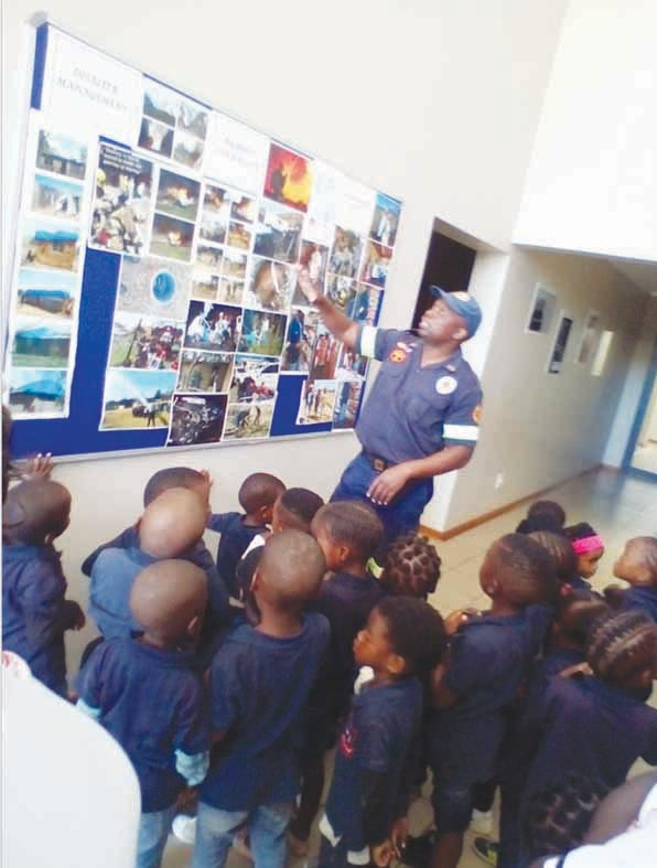 Othandweni Day Care children visit Emergency Service Departments