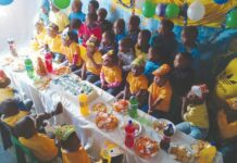 Happy birthday Lungisani Edu-Care Centre!