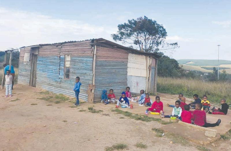 Asidlale team visits Thoko's Crèche in Vezinyawo
