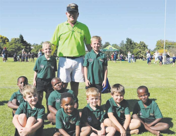 Piet Retief Primary's first mini-sport tournament for 2019