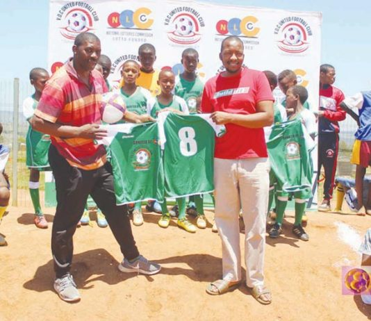 Investment in young footballers of Gert Sibande