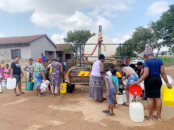A longweekend without water