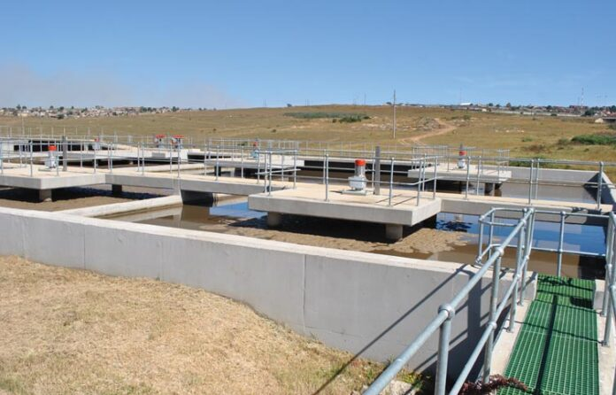 Water Waste Treatment Plant